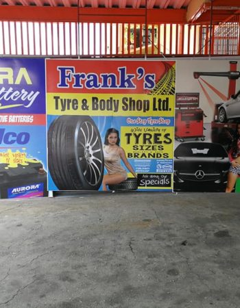 Frank's Tyre and Body Shop Ltd
