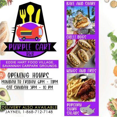 Purple Cart Cuisine (bake & Shark,burgers and more)