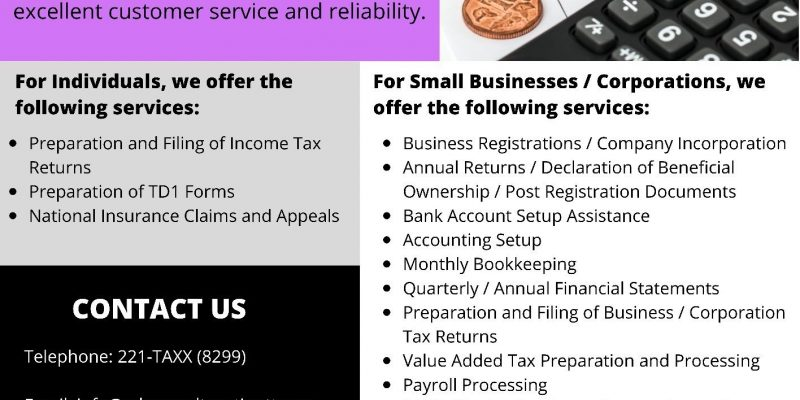 Advanced Taxation and Business Services Limited